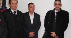 Premijer vlade TK Bahrija Umihanić, vlasnik BINGA Senad Džambić i načelnik općine Srebrenik Nihad Omerović