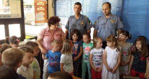 Učenici su posjetili pojedine Službe u PS Srebrenik