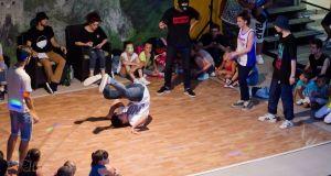 Detalj sa takmičenja plesnih grupa