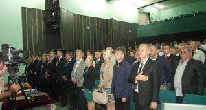 Detalj sa svečane sjednice OV-a Srebrenik