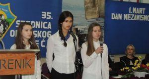 Prigodni program su priredili učenici Prve OŠ Srebrenik i OŠ Duboki Potok