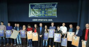 Zajednička fotografija svih dobitnika priznanja